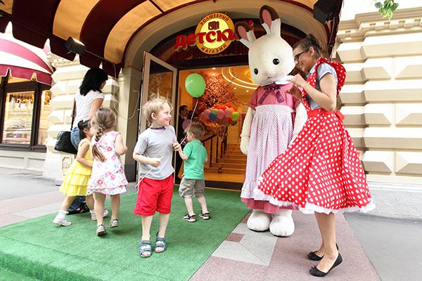 Фото №1 - 1 июня ГУМ приглашает маленьких посетителей к себе в гости