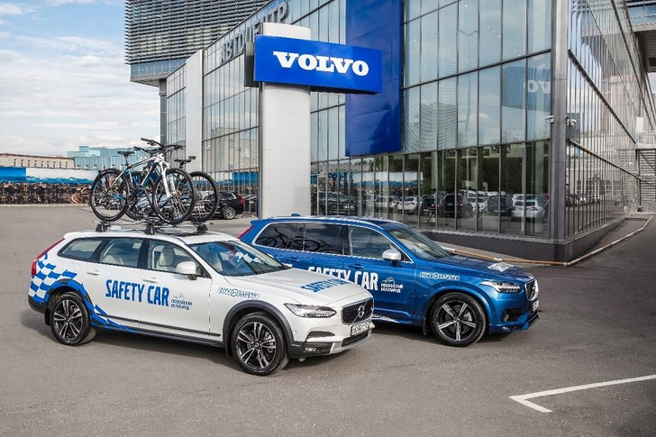 Фото №1 - В Москве, при поддержке Volvo Cars, пройдет Большой Московский Велопарад