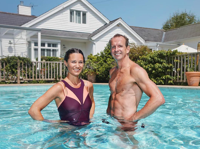 Фото №5 - Беременная Пиппа Миддлтон советует плавать (и рассказывает, как)