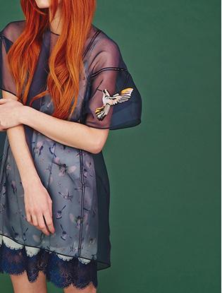 Фото №1 - Интересная комбинация: Александра Федорова и Maison Esve