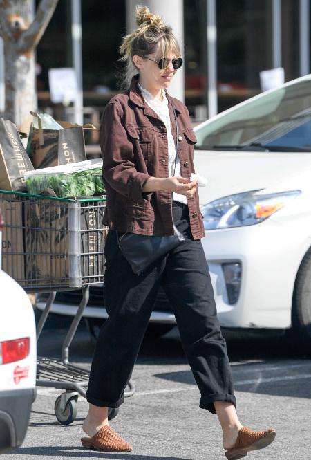Элизабет Олсен в Лос-Анджелесе