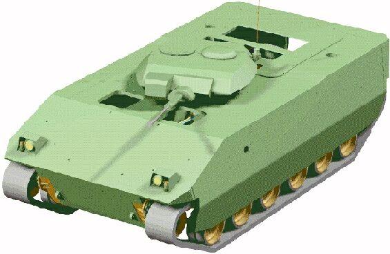 Фото №2 - «Пластиковый танк»— порождение британской военной мысли. Как его строили и что с ним стало