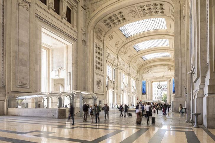 Фото №1 - На вокзале Милана открылся центральный рынок