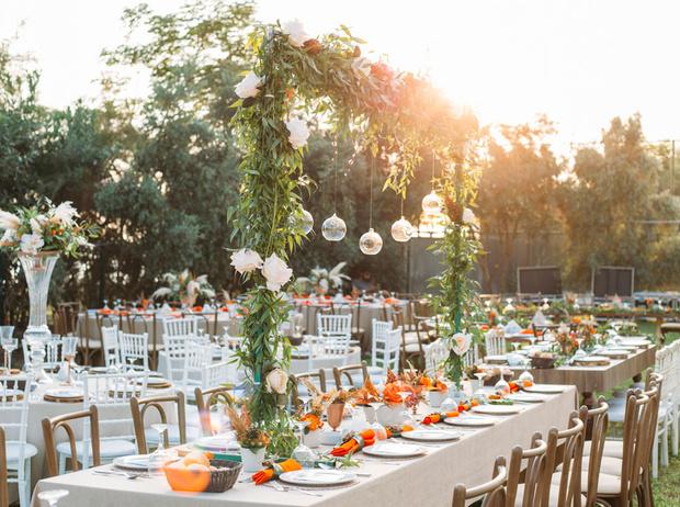 Фото №3 - 8 вдохновляющих примеров свадебного декора