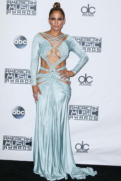 Джей Ло на American Music Awards 2015