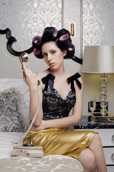 Фото №11 - WOW! Катя Клэп снялась в образе Ким Кардашьян