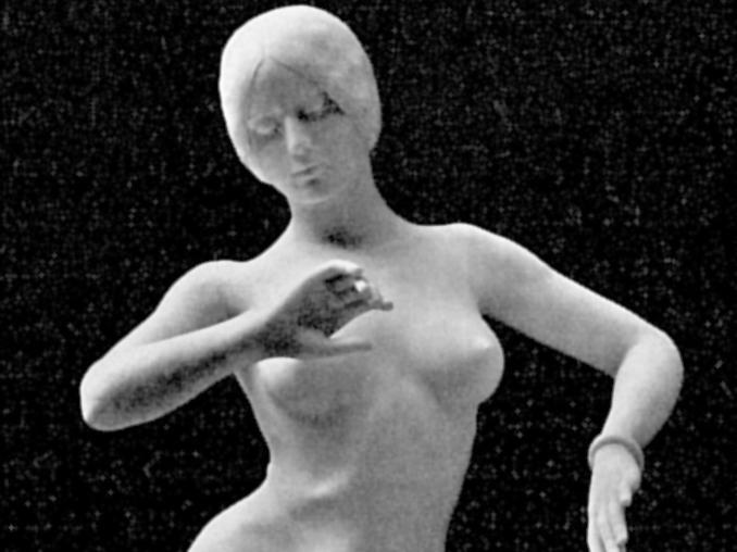 «Танцовщица» работы Александра Фальгьера. Украшает музей Орсе в Париже