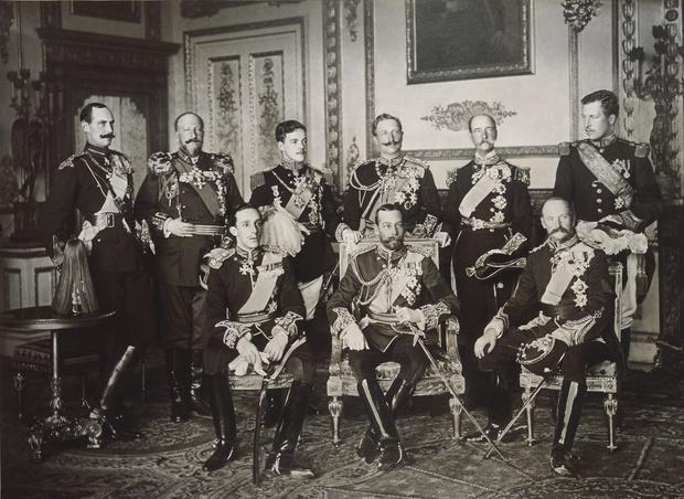 Фото №1 - История одной фотографии: девять европейских королей на одном снимке, май 1910 года