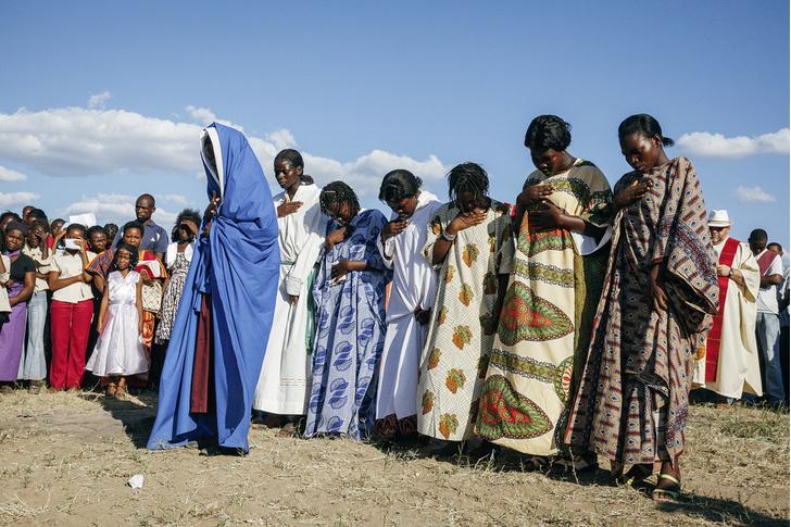 Фото №10 - И в Африке Пасха: мистерия «Крестный путь» в Мозамбике