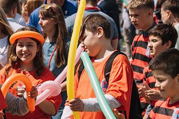 Фото №2 - Московский  ежегодный  фестиваль здоровья и безопасности детей