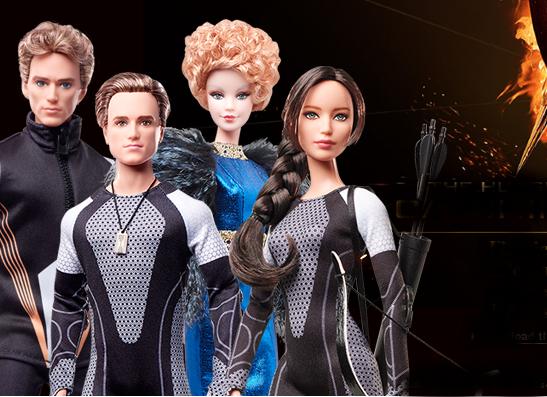 Фото №1 - Дизайнеры Matell создали коллекцию Barbie по мотивам «Голодных игр»