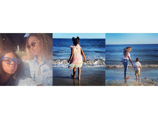 Фото №1 - Бейонсе поделилась редкими кадрами подросших близнецов