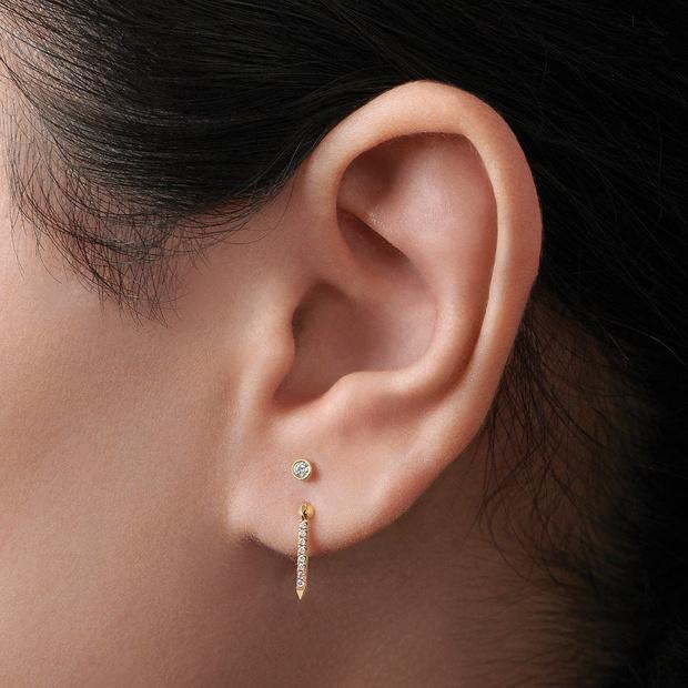 Фото №2 - 3 самых популярных точки для пирсинга ушей