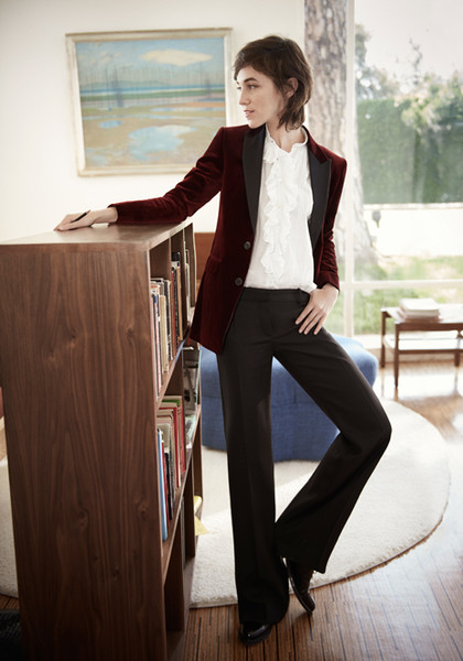 Фото №3 - Шарлотта Генсбур в новой рекламной кампании Gerard Darel
