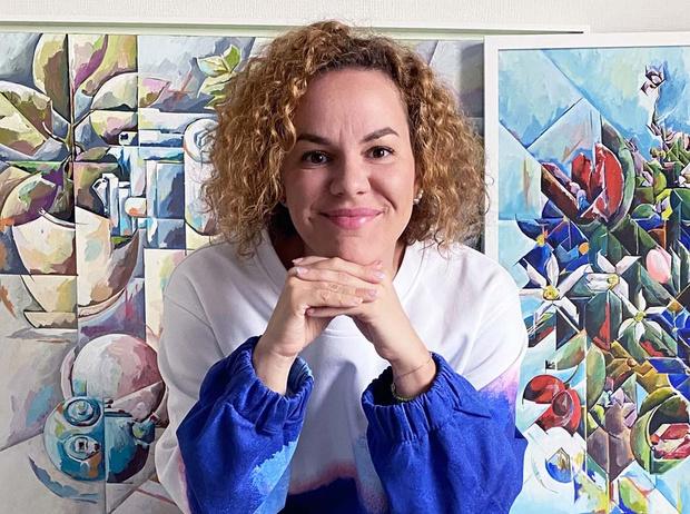 Фото №1 - Катерина Плеханова: «Я всегда хотела выйти за рамки академической живописи»