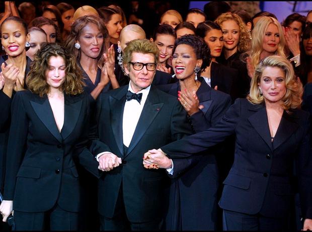 Фото №1 - Женщины Ива: Катрин Денев, Летиция Каста и другие музы Сен-Лорана