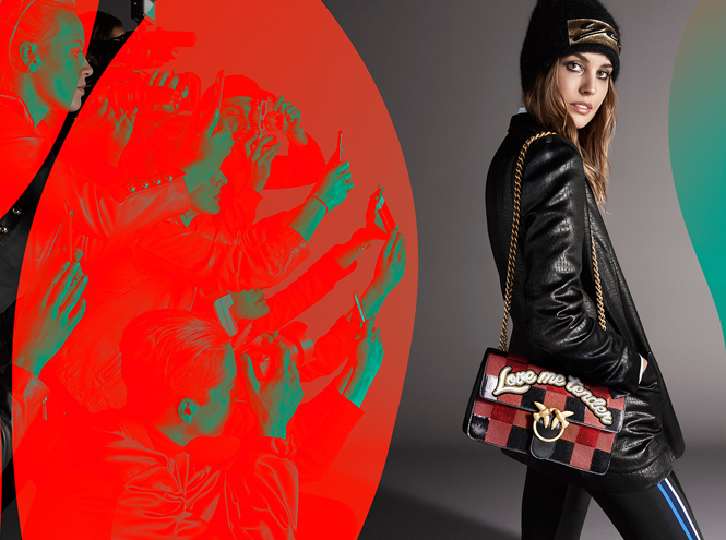 Фото №8 - В свете фотовспышек: новая рекламная кампания Pinko Осень-Зима 2016