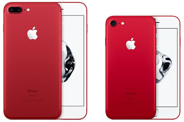 Фото №1 - Встречайте: красный iPhone только для девочек