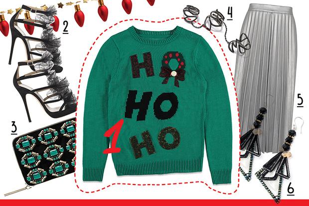 Фото №2 - С чем носить рождественский пуловер