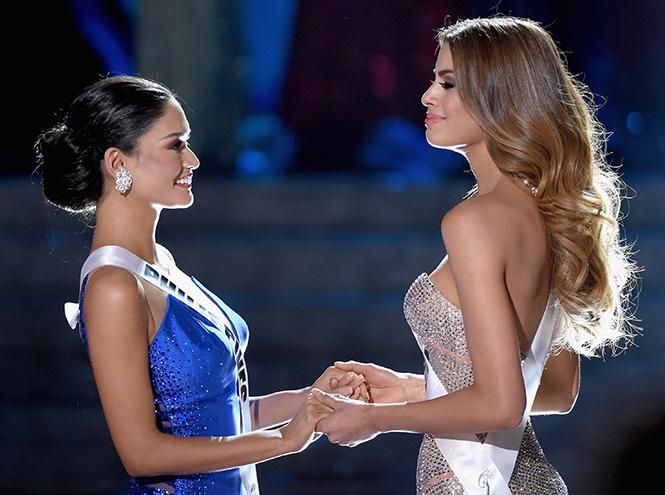 Фото №1 - На конкурсе «Мисс Вселенная 2015» корону вручили дважды