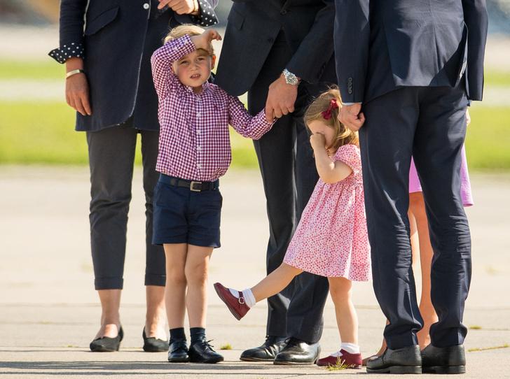 Фото №5 - Юные бунтари: принц Джордж и принцесса Шарлотта уже не соблюдают протокол