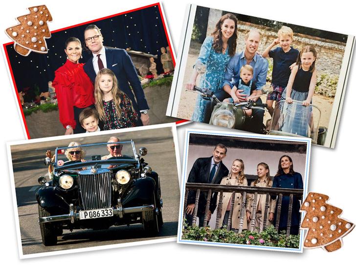 Фото №1 - Самые милые и долгожданные рождественские королевские открытки 2019