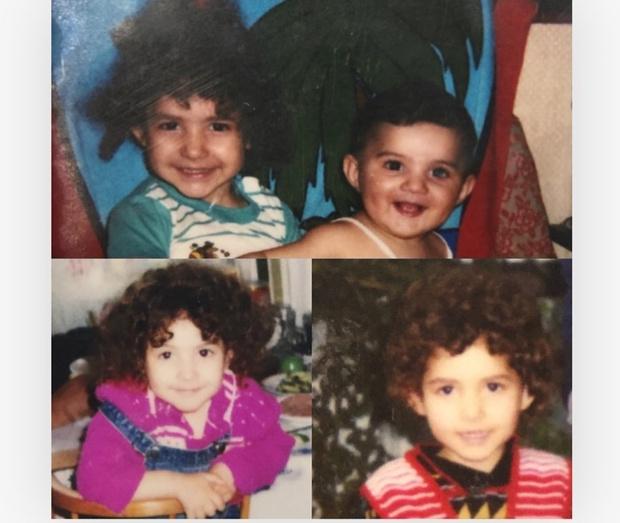 Я и моя сестра (на нижнем фото— только я)