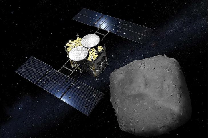 Фото №1 - Загадка астероида Рюгу поставила ученых в тупик