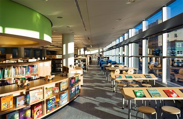 Фото №4 - Библиотека в большом городе