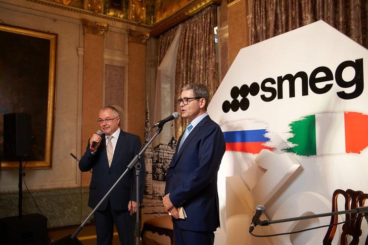 Фото №2 - SMEG отпраздновал юбилей приемом в Посольстве Италии