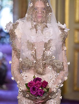 Фото №21 - В деталях: лучшие свадебные платья haute couture осень/зима 2016