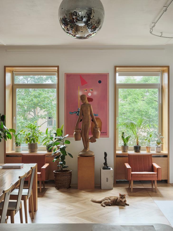 Фото №4 - Квартира художника Сергея Бондарева в Санкт-Петербурге