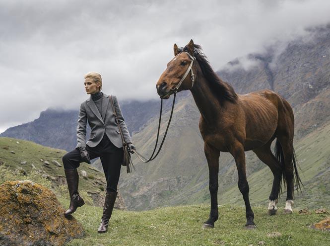 Фото №10 - На склоне гор: рекламная кампания Ekonika FW 2015/16