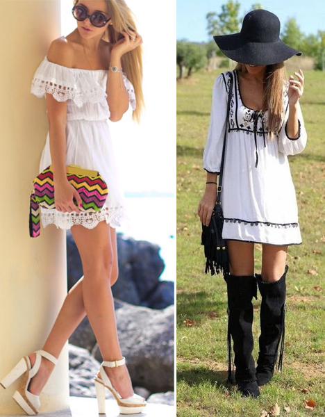 Фото №3 - Тренд лета: как носить платье в крестьянском стиле