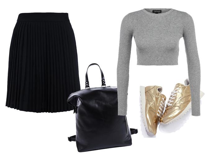 Фото №4 - Вещь сезона: как носить юбку-плиссе