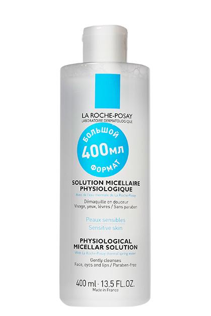 Физиологический мицеллярный раствор Solution Micellaire Physiologique, La Roche-Posay