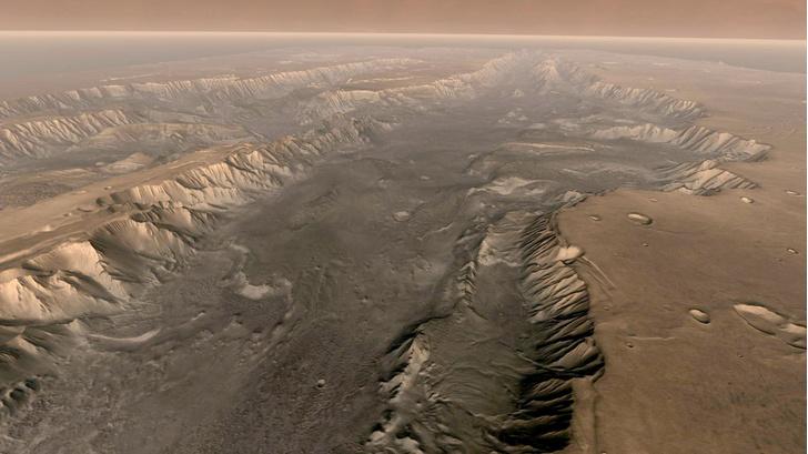 Фото №1 - На Марсе обнаружены следы органики