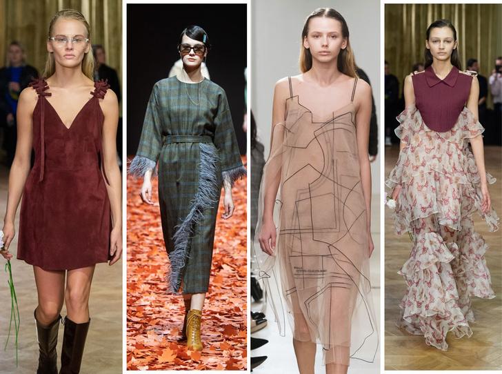 Фото №1 - 30 лучших платьев осени и зимы 2019 с Mercedes-Benz Fashion Week Russia