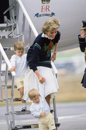 Фото №3 - История в фотографиях: какой мамой была принцесса Диана