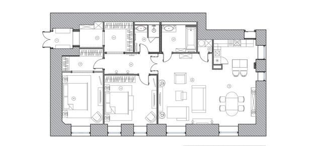 Фото №16 - Классическая квартира на Патриарших прудах