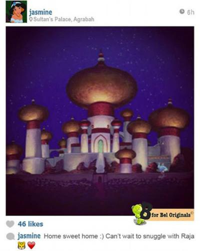 Фото №2 - У принцесс Disney появился Instagram