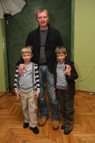Алексей Серебряков дети фото
