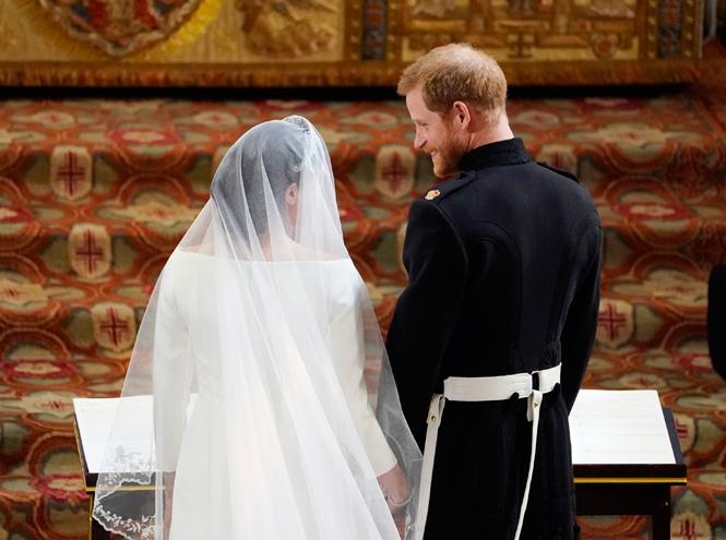 Фото №53 - Свадьба Меган Маркл и принца Гарри: как это было (видео, фото, комментарии)
