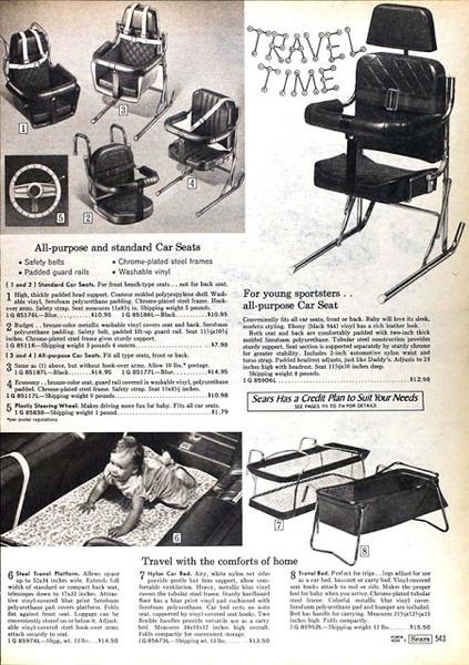 Фото №6 - «Дорогая, я пристегнул детей!»: какими были детские кресла полвека назад (12 странных приспособлений)