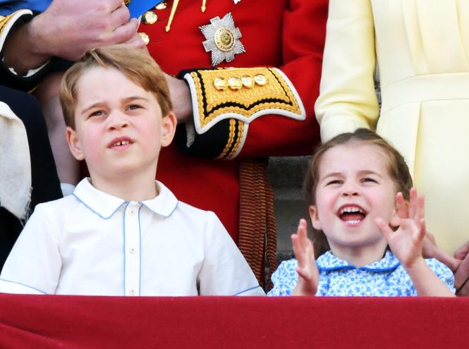 Фото №17 - Принц Джордж Кембриджский: шестой год в фотографиях