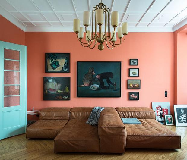 Фото №1 - Маленькая квартира с ярким характером в Берлине
