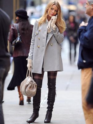 Фото №5 - Gossip girl fashion: 10 лучших образов Блэр и Серены из «Сплетницы»