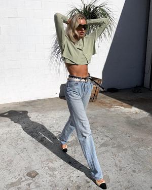 Фото №11 - Стиль Эльзы Хоск: как одевается самая яркая топ-модель новой эпохи