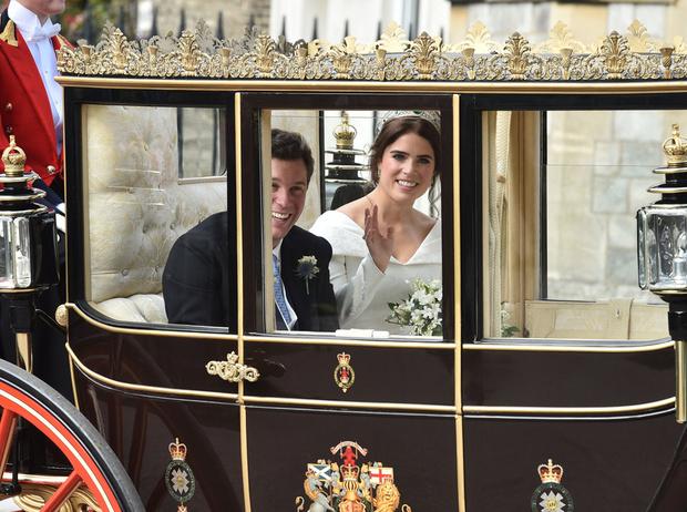 Фото №27 - Интересные факты о свадьбе принцессы Евгении и Джека Бруксбэнка