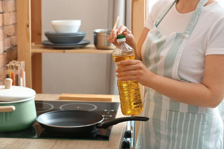 Как правильно открывать подсолнечное масло